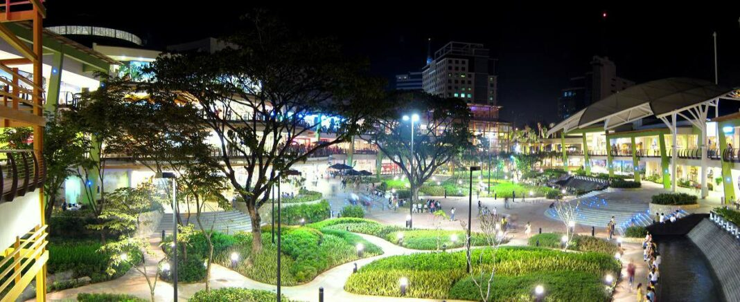 cebu philippinen, ayala center