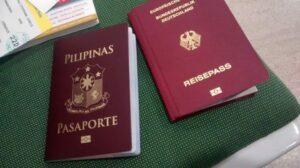 filipina nach deutschland holen