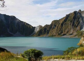Vulkan Pinatubo, mount Pinatubo