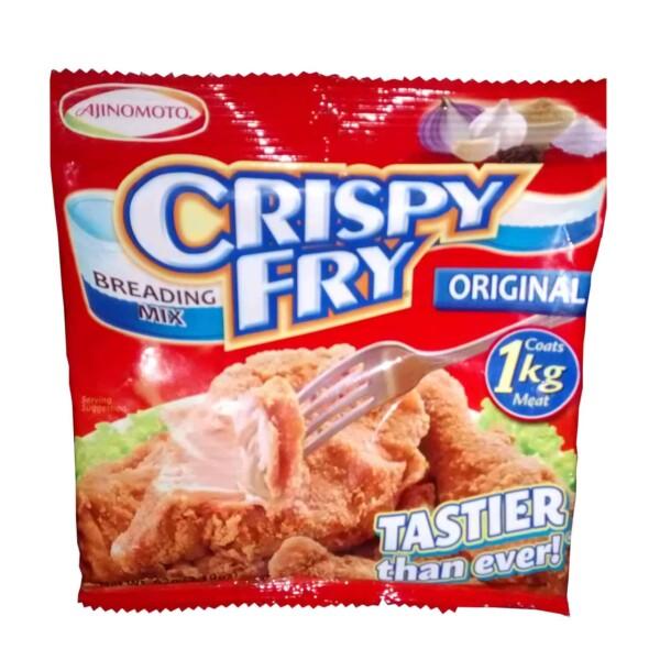 Crispy fry breading mix