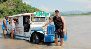 jeepney-in-river